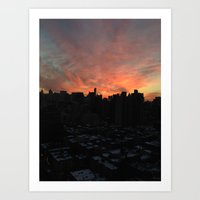 nyc, you're gorgeous Art Print
