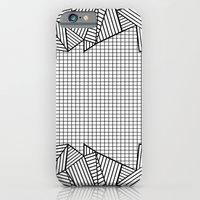 Grids and Stripes   iPhone 6 Slim Case
