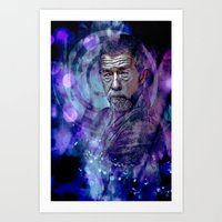 doctor Art Prints featuring Doctor ? by Sirenphotos