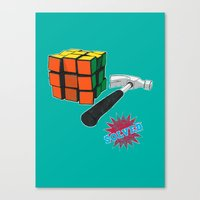 solved ! Canvas Print