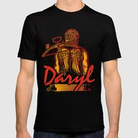 Daryl Mens Fitted Tee Black SMALL