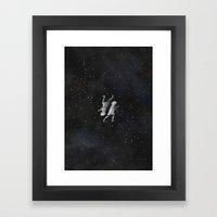 Die feine Haut Framed Art Print