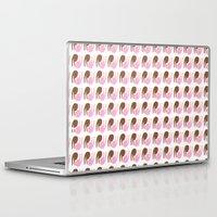 peace Laptop & iPad Skins featuring peace by Alba Blázquez