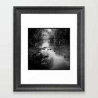 A Song in Present Time Framed Art Print