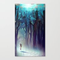 AquaForest Canvas Print