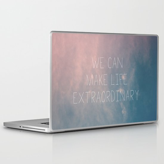 Extraordinary I Laptop & iPad Skin