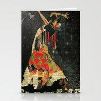 Dance. Illustration Seri… Stationery Cards
