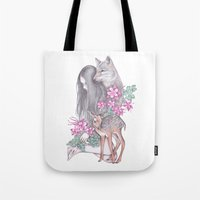 Forest Wanderer Tote Bag