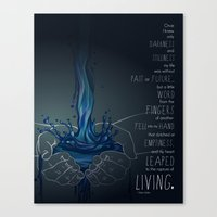 The Rapture of Living Canvas Print