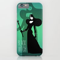 iPhone & iPod Case featuring Black witch by Francesco Malin