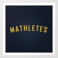 Mathletes - Mean Girls M… Art Print