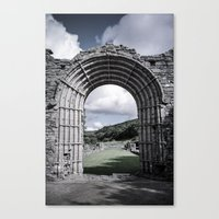 Faded Memories: Strata Florida Canvas Print