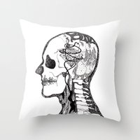 Demon Days ~ A. Throw Pillow