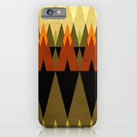 iPhone & iPod Case featuring living in the woods by Yetiland