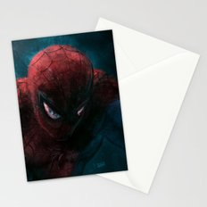 Spider-Man painting Stationery Cards
