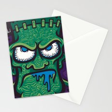 TURN THE CRANK, IT'S TIME FOR FRANK! Stationery Cards
