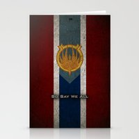 The Banner of Caprica - So Say We All Stationery Cards