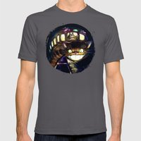 Cat Bus Is In Your Town!… Mens Fitted Tee Asphalt SMALL