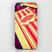 Popcorn, Get Your Popcorn Here!!! iPhone & iPod Skin