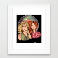 That Woman Is My Daughte… Framed Art Print
