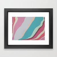 Gliss Framed Art Print