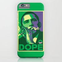 iPhone Cases featuring the dopest president by Jonah Block