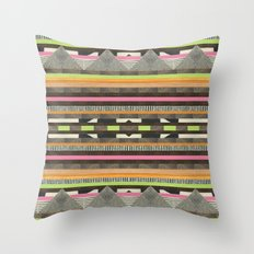 DG Aztec No. 2 Throw Pillow