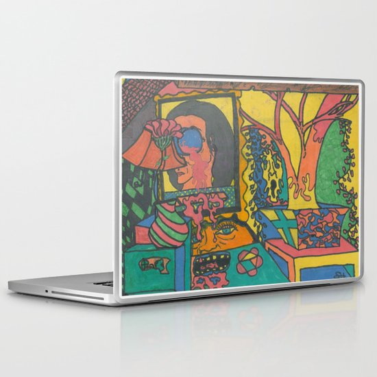 Living Room Laptop & iPad Skin