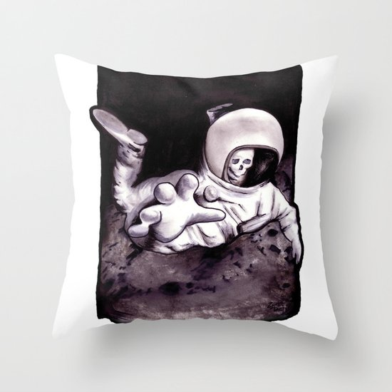 Bastard Sons In Space Throw Pillow
