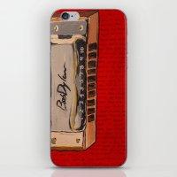 Bob Dylan's Harmonica  iPhone & iPod Skin