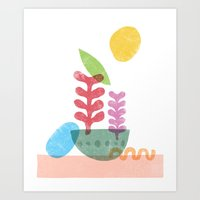 Still Life With Egg & Wo… Art Print
