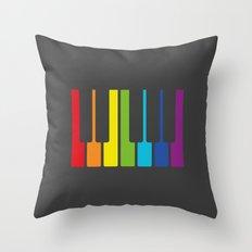 Somewhere over the rainbow Throw Pillow