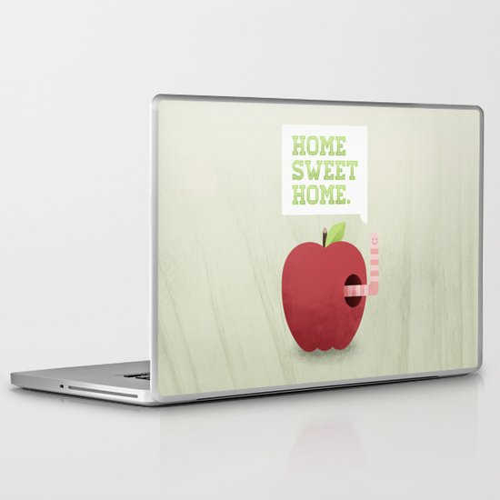 Home Sweet Home Laptop & iPad Skin