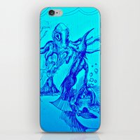The treasure; currency is cheetos & goldfish, under the sea iPhone & iPod Skin