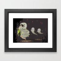 Follow The Leader Framed Art Print