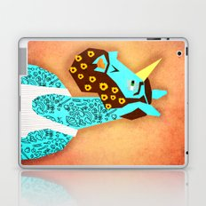 Flower Power Beard Unicorn Laptop & iPad Skin