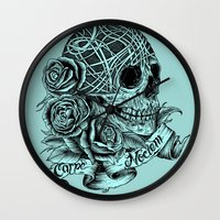 Carpe Noctem (Seize The … Wall Clock