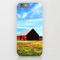 iPhone & iPod Case featuring The Red Barn by Thephotomomma