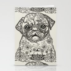 Persian Pug Stationery Cards