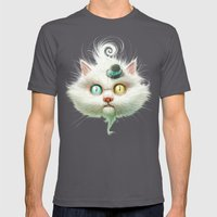 Release the Odd Kitty!!! Mens Fitted Tee Asphalt SMALL