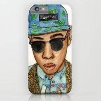 iPhone & iPod Case featuring Tyler, The Creator by Daniel Cash