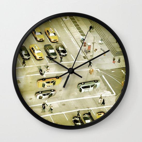 Escher Intersection Wall Clock