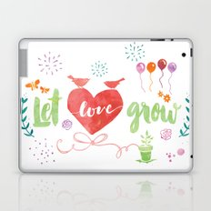 Let Love Grow Laptop & iPad Skin