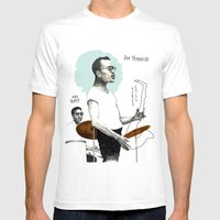 ANALOG zine - Vocalese Sax Solo Mens Fitted Tee White SMALL