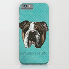 English Bulldog Print iPhone 6 Slim Case
