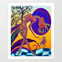Mymy Art Print