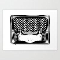 RadioSapo Art Print