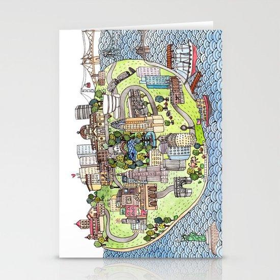 New York City Love Stationery Card