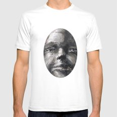 Johnny Mannequin White SMALL Mens Fitted Tee