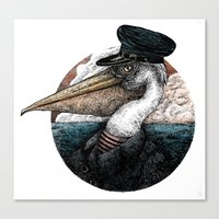 Captain Arthur Shrewsbur… Canvas Print
